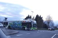 "Der ""Rolling-Wall""-Bus"