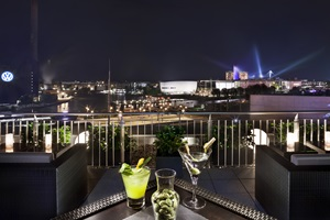 Skylounge & Bar The View INNSIDE Hotel Wolfsburg